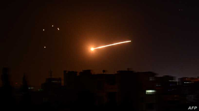 A rocket exploded near Dimona, and Israel is responding in the vicinity of Damascus
