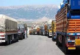 التبادل التجاري بين النظام السوري  والأردن تجاوز 108 ملايين دولار