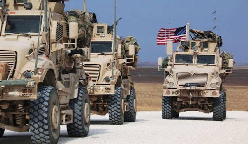 مجهولون يستهدفون رتلاً للقوات الامريكية بقذيفة صاروخية