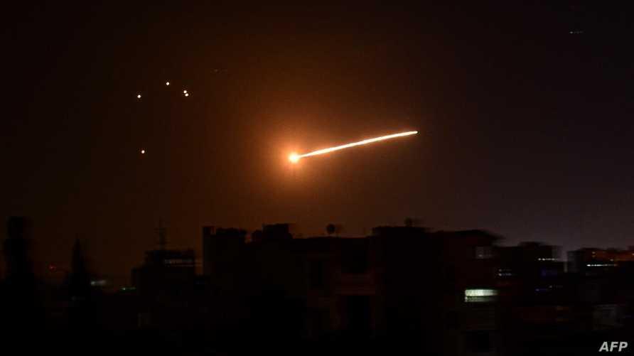 مقتل ضابط من قوات النظام  في الرد الإسرائيلي على الصاروخ الطائش