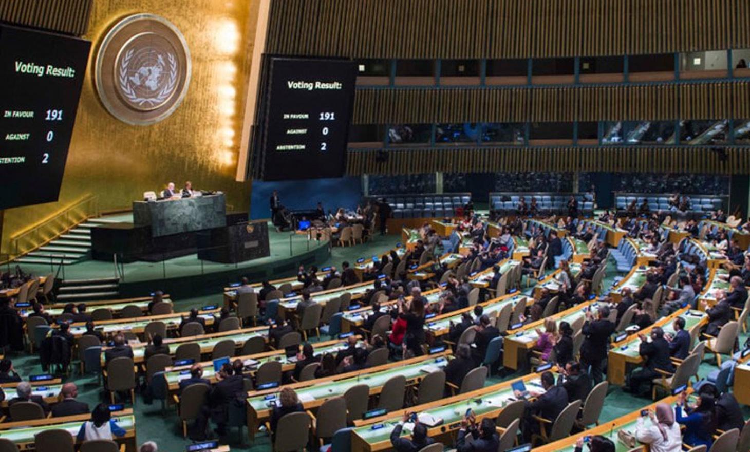 الائتلاف الوطني  يطالب بتجميد عضوية النظام بالأمم المتحدة ومنعه من تمثيل سوريا