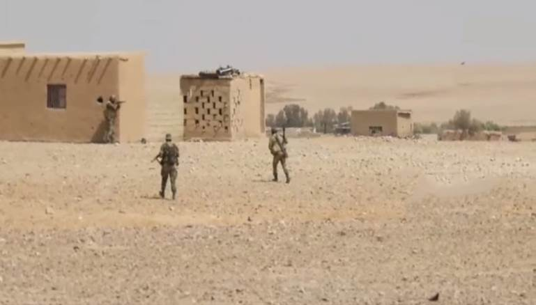 Unidentified gunmen inflict heavy losses on the regime forces in the Syrian desert