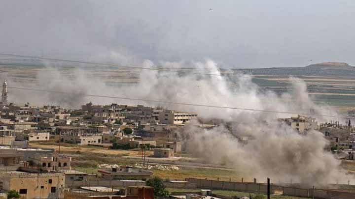 Civilians were wounded in artillery shelling by the regime forces on Idlib countryside