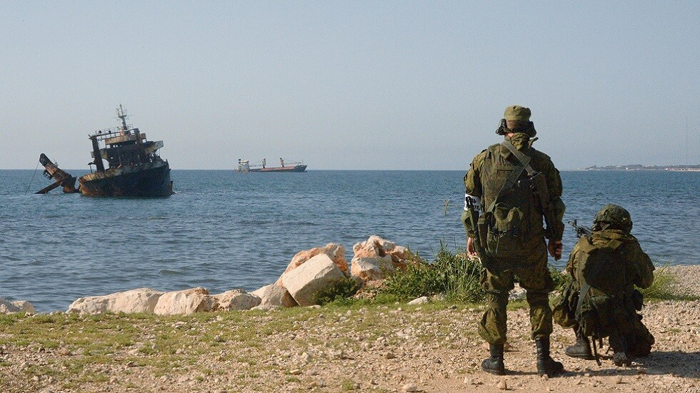Video: Russian exercises in Tartus in preparation for Navy Day