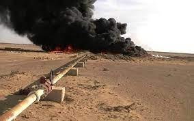الثاني خلال ايام ... تفجير جديد  يستهدف  خط غاز بين مناطق قسد ونظام الأسد