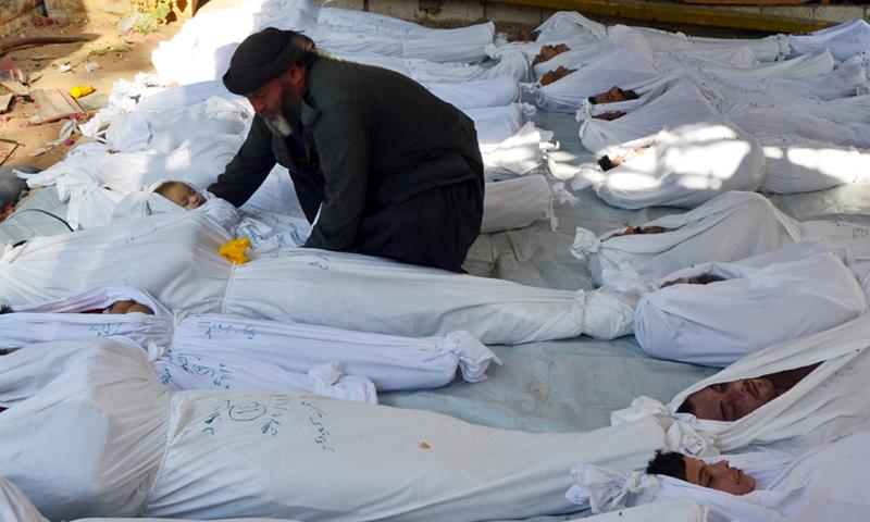 اسرائيل تساعد نظام الأسد بطمس  أدلة تثبت ارتكابه مجزرة دوما الكيماوية