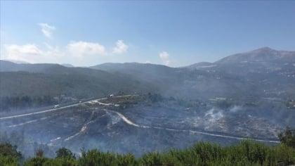 امتدت من الأراضي  السورية ... السيطرة على حرائق في تركيا