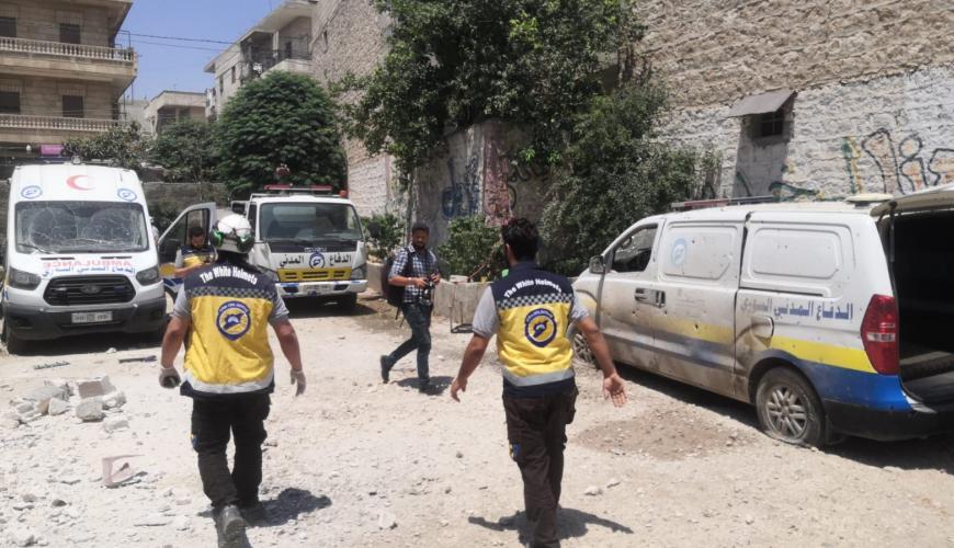 جرحى مدنيين بقصف صاروخي لقسد استهدف مدينة عفرين ومارع