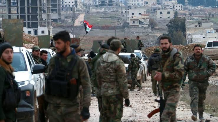 A campaign of arrests by the regime's intelligence in Hama countryside