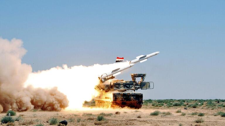 في تطور جديد ...بمساعدة روسيا النظام يصد ضربة من مقاتلتين إسرائيليتين على ريف دمشق