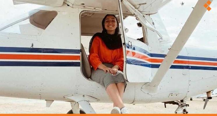 لن أتخلى عن جنسيتي السورية.. الطيّارة مايا غزال تحصل على الجنسية البريطانية