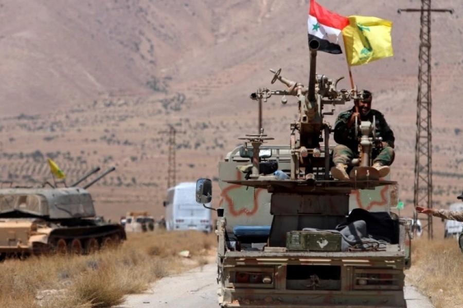 مصادر تكشف عن مقتل 7 عناصر من حزب الله  وفاطميون في غارة  إسرائيلية على سوريا