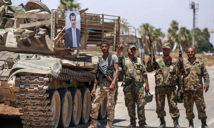 الفرقة الرابعة تنقلب على الاتفاق وتقتحم أحياء في درعا البلد وتقصفها بالهاون