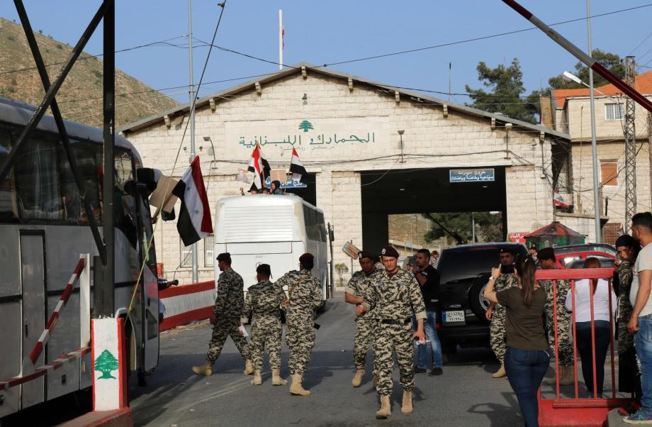 القبض على شبكة لتهريب البشر بين سوريا ولبنان