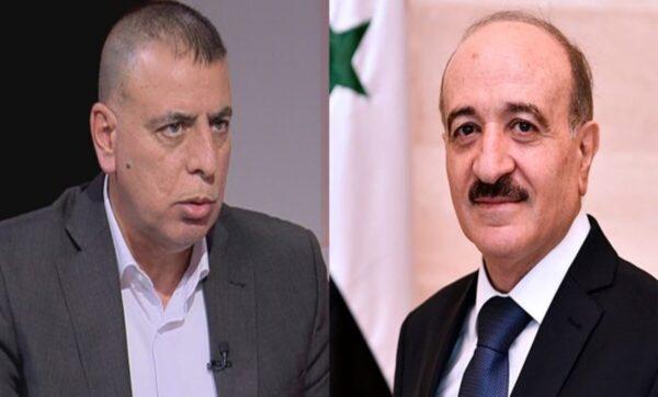 وزير داخلية النظام يجري اتصالا بنظيره الأردني