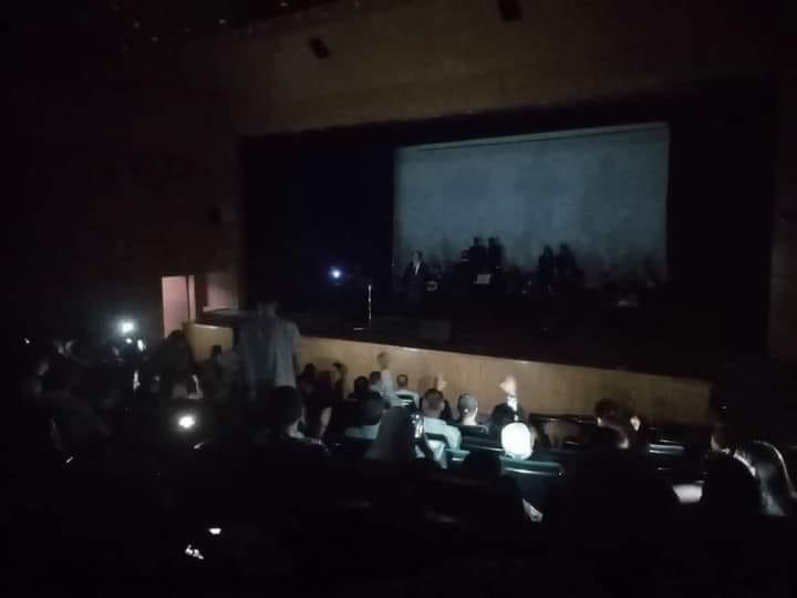 انقطاع الكهرباء خلال أمسية موسيقة لوزارة الثقافة في دمر