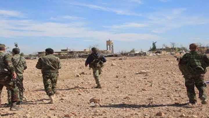 The regime finds 10 bodies of its members killed near Homs