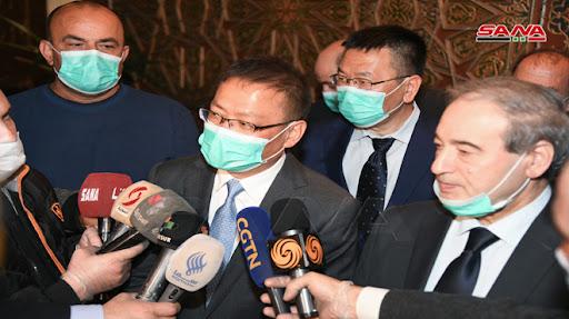 وصول مساعدات طبية صينية إلى النظام السوري