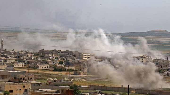 جرحى بقصف مدفعي لقوات النظام على ريف حماه
