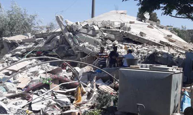 الدفاع المدني يطالب المجتمع الدولي بوقف جرائم الأسد في درعا