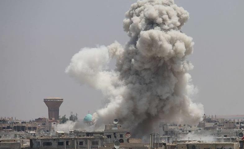 عاجل .. النظام يقصف  محيط عدد من البلدات في درعا