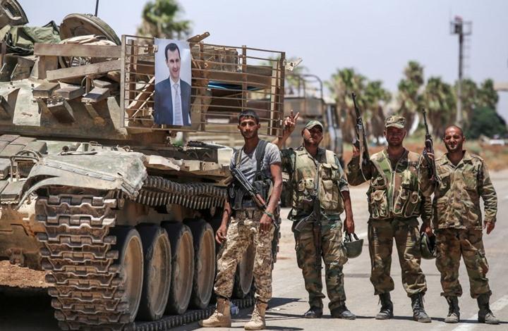 مصادر محلية :قوات النظام تنسحب من بعض المواقع وتدفع بتعزيزات جديدة إلى درعا