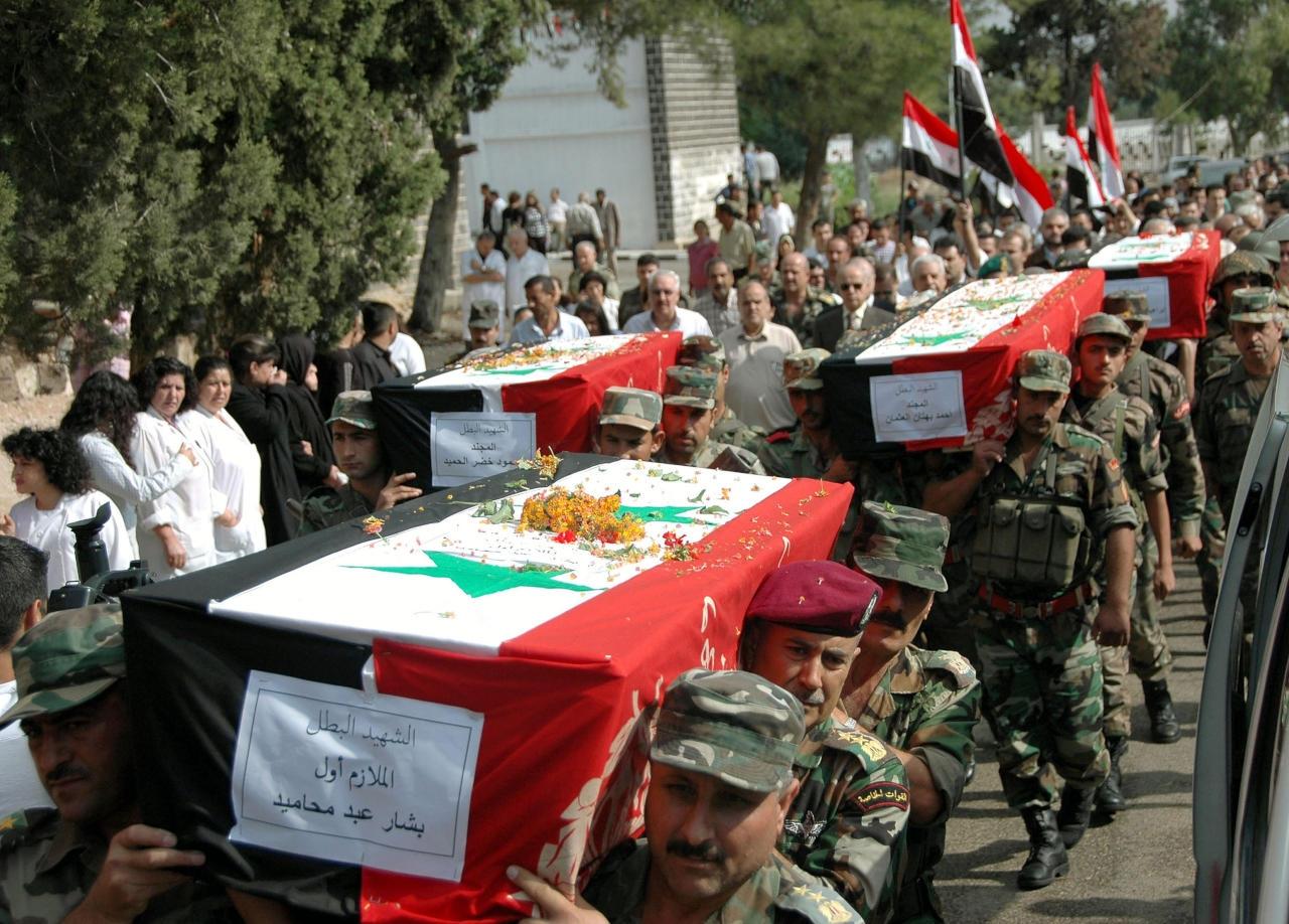 مصرع عدد من ضباط وعناصر قوات الأسد معظمهم في درعا
