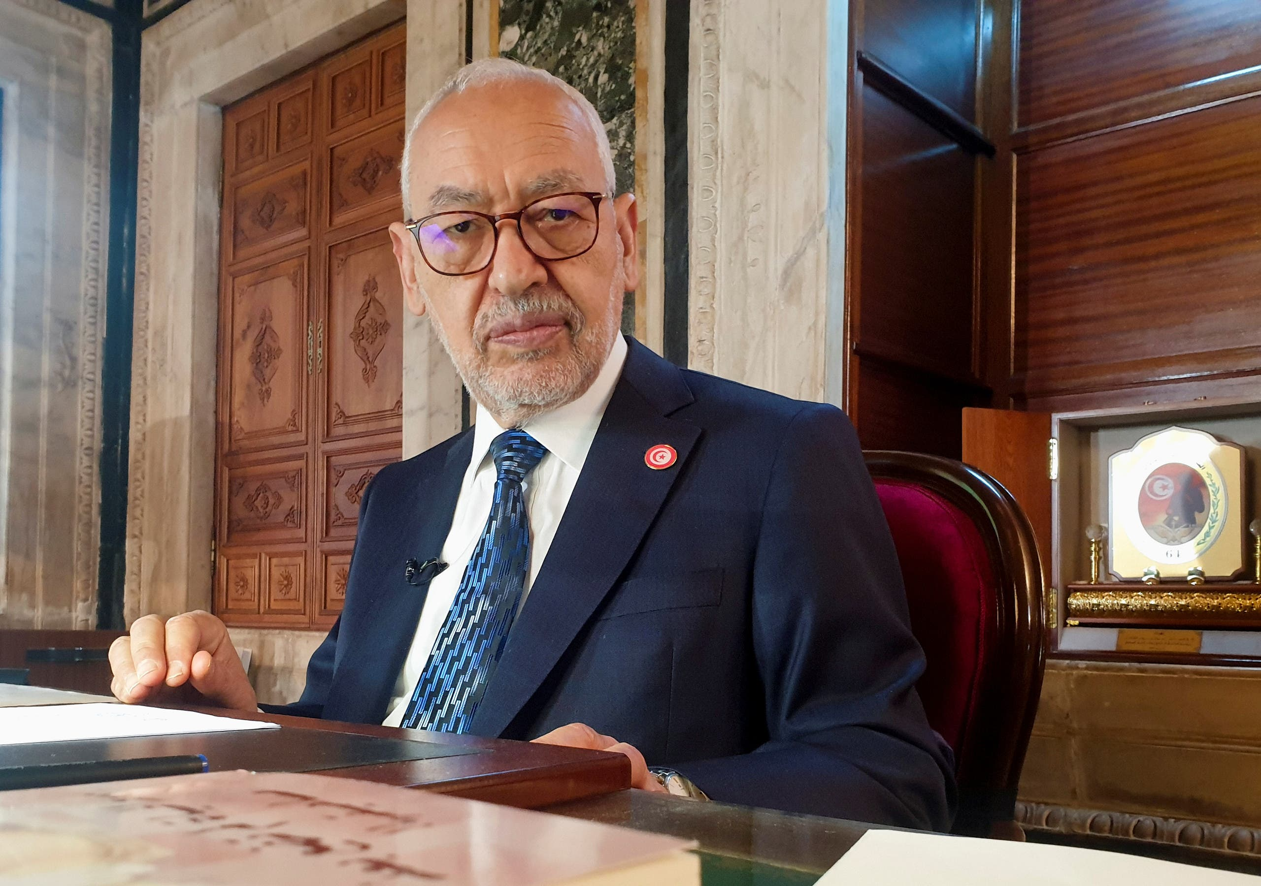 الغنوشي يتهم الإمارات بالوقوف وارء ما يجري في تونس