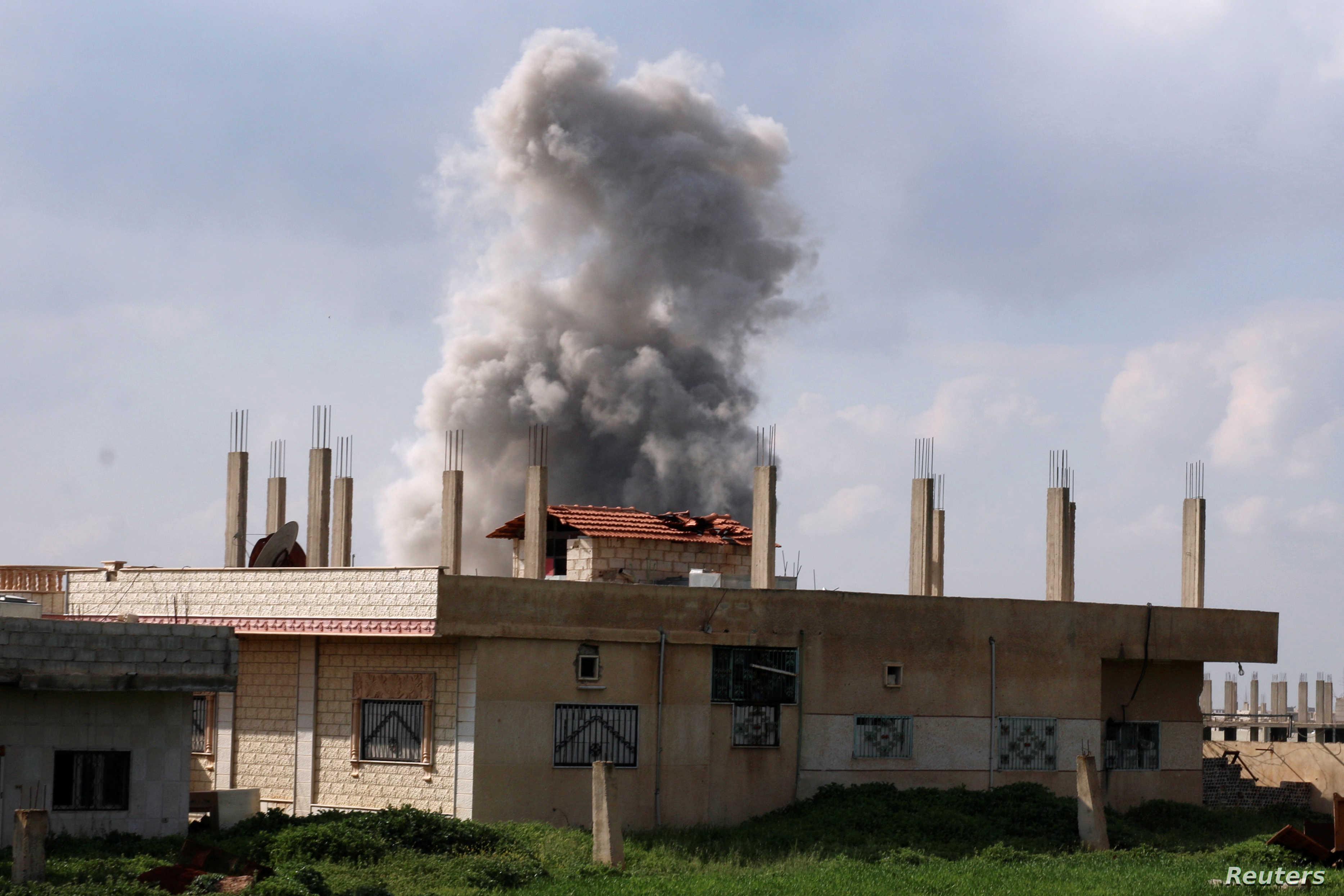 انتهاء جلسة جديدة من المفاوضات  بين لجان  درعا والنظام والأخير مستمر  بقصفه للأحياء