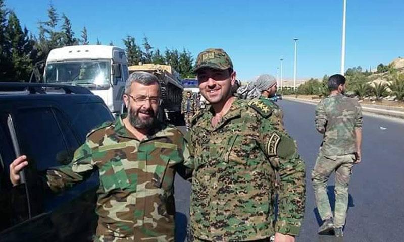 مقطع مسرب لضابط في قوات النظام  يكشف الحقد الدفين على أبناء درعا
