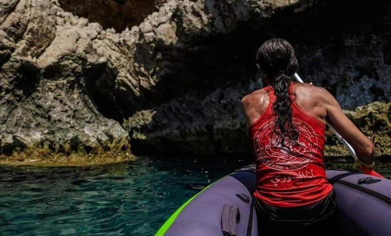 اكتشاف محمية بحرية نادرة ضمن كهف مائي لأول مرة في سوريا