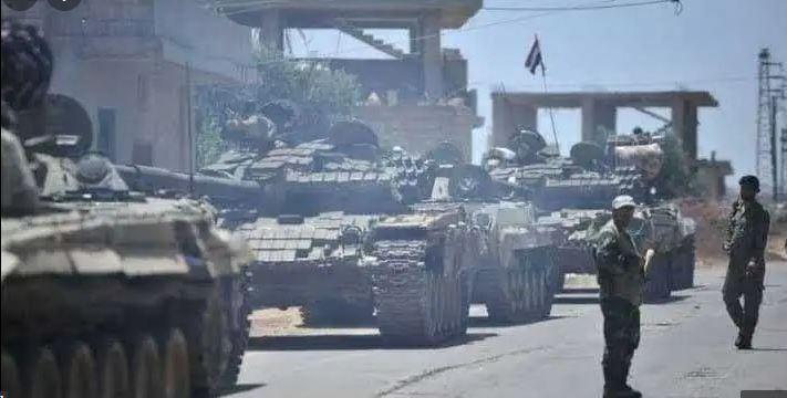 Assad's forces are bringing in new reinforcements and trying to advance to Jassim city in the northern countryside of Daraa