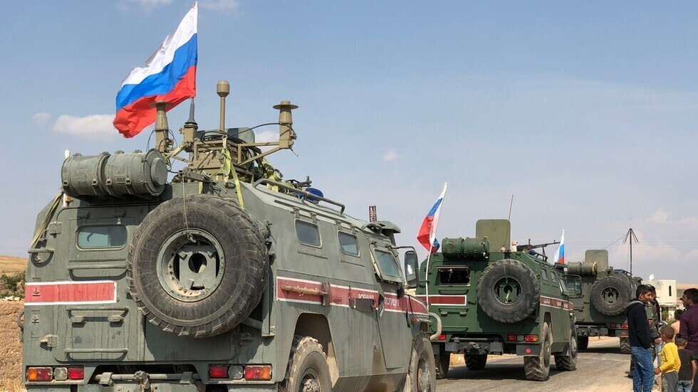 Announcing to conduct a joint Russian-Turkish patrol in Aleppo countryside, northern Syria