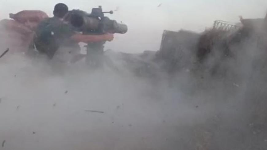 A group of SDF members was killed by a missile aimed at the unified command room (Azm) near al-Bab