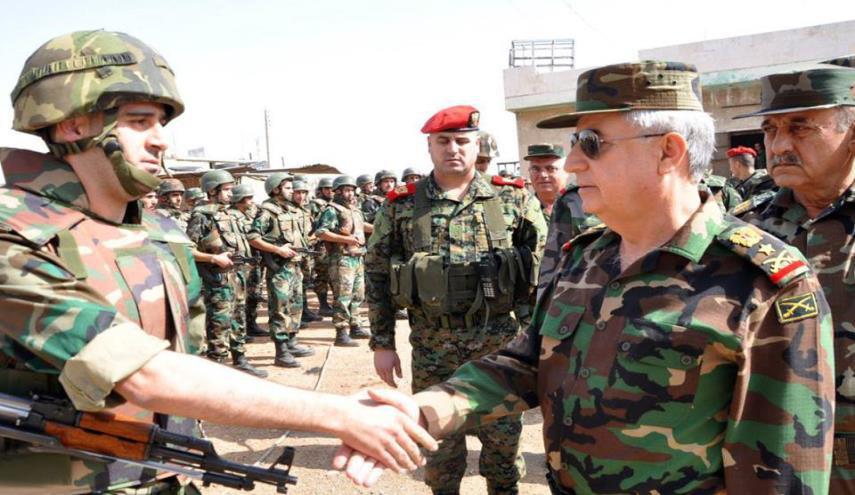 مصدر مطلع:  ضابطٌ روسي يطرد وزير دفاع النظام السوري من درعا