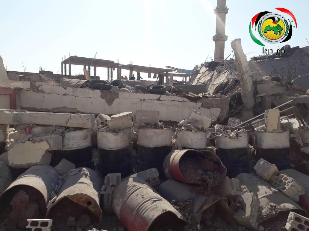 تفجير مقر لحزب البعث بعد إخلائه وترقب حذر في درعا