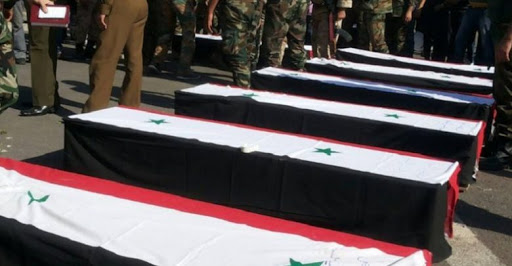 By names... 4 officers of the regime forces, including a colonel, were killed in Damascus, Latakia and Idlib