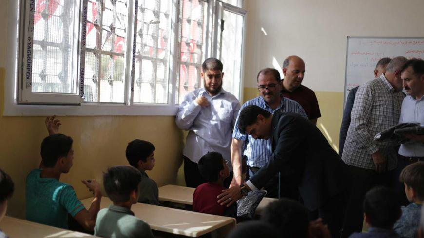 Calls for a general strike of teachers in the northern countryside of Aleppo