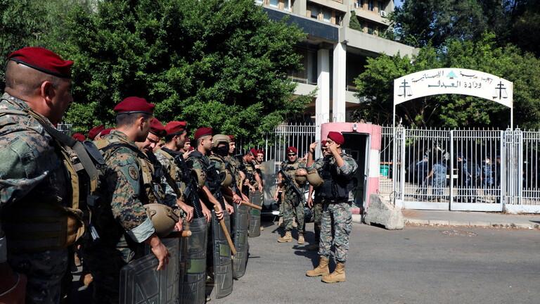 إطلاق نار كثيف في محيط قصر العدل ببيروت وأنباء عن اشتباكات