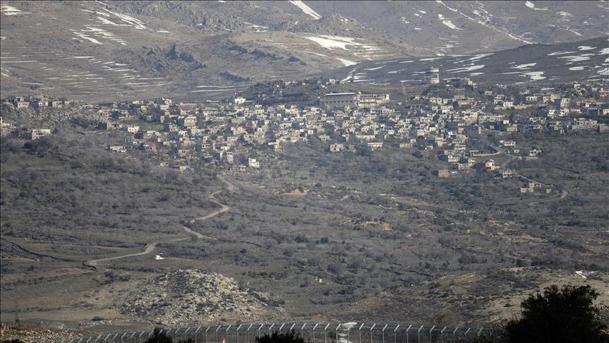 بعد الغارات على النظام السوري ...إسرائيل تغلق  المجال الجوي في هضبة الجولان
