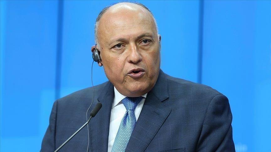 مصر تدعم جهود الأمم المتحدة لحلحلة الأزمة السورية