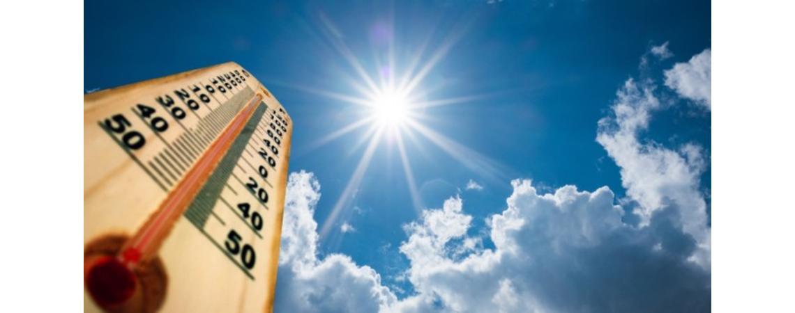الأرصاد الجوية ... الطقس اليوم وغدا حار  نسبياً
