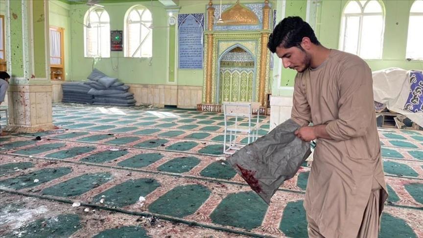 أفغانستان..ارتفاع حصيلة قتلى تفجير مسجد قندهار إلى 62