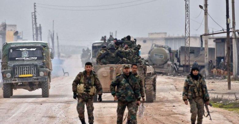 مصادر : قوات النظام تدفع بتعزيزات كبيرة  إلى محاور إدلب