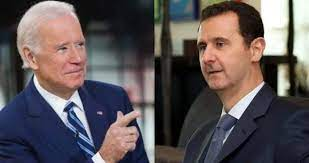 موقع فرانس 24  يكشف عن علاقة بايدن  في إعادة تعويم نظام الأسد