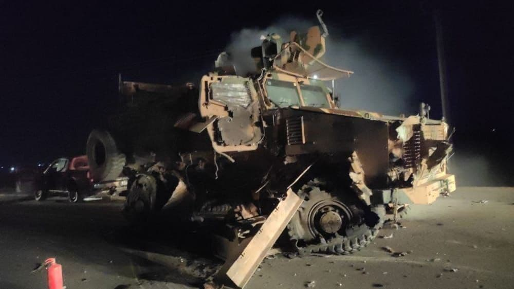 هجوم جديد يستهدف القوات التركية في إدلب ويخلف قتلى وجرحى