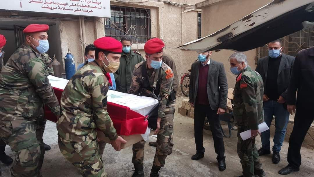 Dead and wounded for the regime in an ISIS attack west of Al-Raqqa