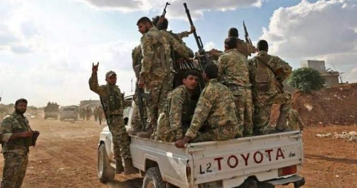 الجبهة السورية للتحرير تنفذ عملية آمنية في مناطق غصن الزيتون