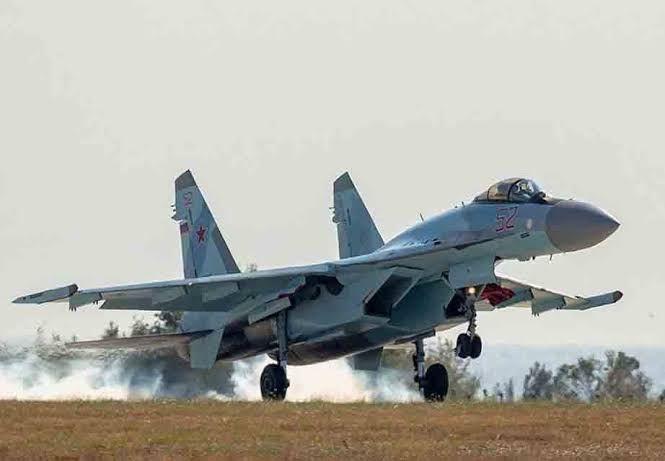 Coalition warplanes bomb an Iranian base in Al-Bukamal desert