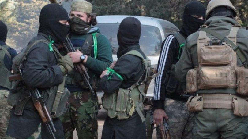 تحرير الشام تقبض على خلية مسؤولة عن تفجير سيارة في عفرين...صور
